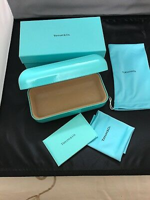 639568b629f6 Tiffany & Co Glasses Case With Outer Box,Cleaning Cloth and Authenticity  Card