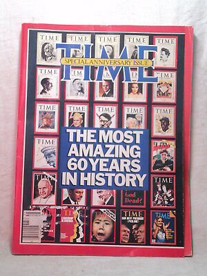 TIME Magazine 1983 Special 60th ANNIVERSARY ISSUE