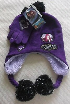 finest selection 98873 5a3c9 ... where can i buy disney descendants 2 misunderstood girls purple hat  gloves set one size nwt