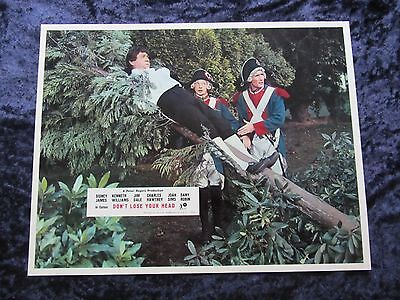 CARRY ON DON'T LOSE YOUR HEAD  lobby card #6 CHARLES HAWTREY, SID JAMES