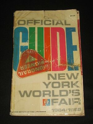 Time-Life Official Guide New York World's Fair 1964 1965 Photos & Vintage Ads