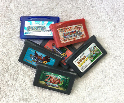 SALE Authentic Nintendo Gameboy Game boy Advance GBA ALL TESTED