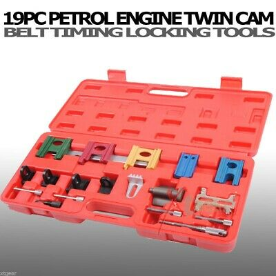 19PC Universal Petrol Engine Twin Cam Timing Locking Car Belt Tool Kit