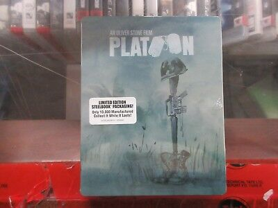 BRAND NEW Platoon Steelbook (Blu Ray)