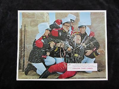 CARRY ON FOLLOW THAT CAMEL  lobby card #5 KENNETH WILLIAMS, PHIL SILVERS