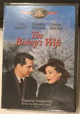 The Bishops Wife DVD New Factory Sealed Cary Grant USA Bought Authentic Holiday