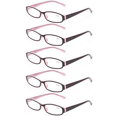 b1d8fcdff0bb Reading Glasses Comb Pack of Multiple Fashion Men and Women Spring Hinge  Readers