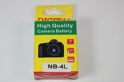 FOR Canon PowerShot SD Digital Camera TX1 Battery NB-4L