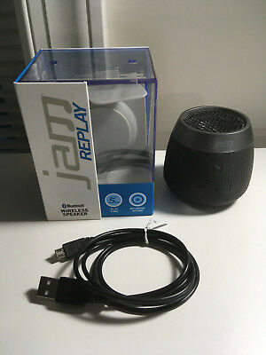 Jam Replay Wireless Bluetooth Rechargeable Speaker - Black Model HX-PX250