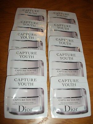 Dior Capture Youth Age-Delay Advanced Creme face and eyes x 20 Sachets