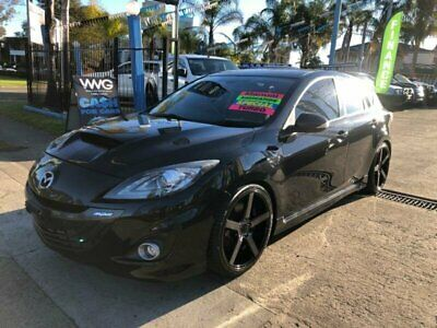 2009 Mazda 3 BL1031 MPS Black Manual M Hatchback
