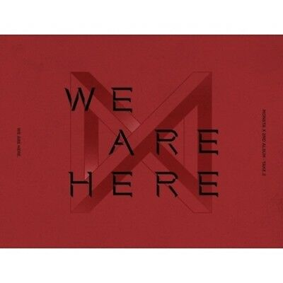 Monsta X-[Take.2 We Are Here]2nd Album 4 SET CD+Poster+Book+etc+Gift+Tracking