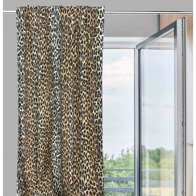 Tenda Safari Maculata Cm. 140X280 Leopardata Made In Italy