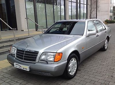 1992 Mercedes Benz 600 Sel/s600 Limo 6.0 V12 408Bhp Auto Silver Rare 68 In Uk
