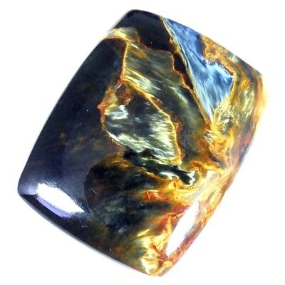 29.80Cts 100% Natural Designer Super Pietersite Cushion Cabochon Loose Gemstone