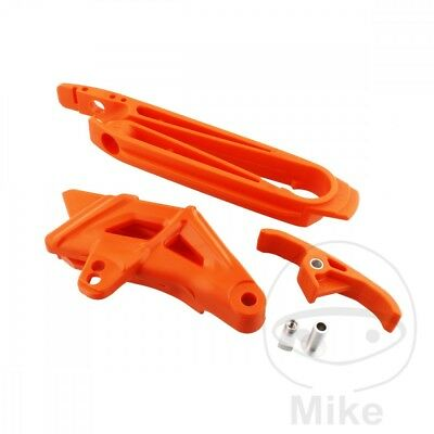 Polisport Chain Guide Set Orange 90609