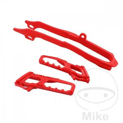Polisport Chain Guide Set Red 90607