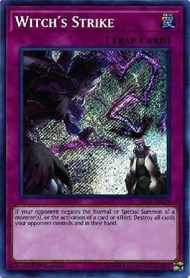 Witch''s Strike - SAST-EN079 - Secret Rare 1st Edition NM Savage Strike