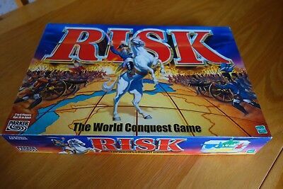 RISK - The World Conquest Game by Hasbro