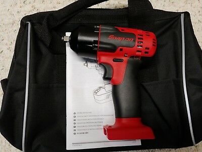 """Snap On•CT8810•3/8"""" 18 Volt•MonsterLithium Cordless Impact Wrench•Tool Only•New!"""