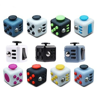 Fidget Cube Children Vinyl Desk Toy Adults Stress Relief Cubes Funny Gifts magic