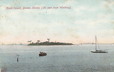 BOSTON , Massachusetts , 1908 ; Apple Island , Boston Harbor