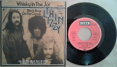 Thin Lizzy – Whisky In The Jar RARE GERMANY SINGLE 1978