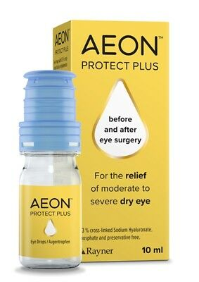 AEON Repair, Protect, Protect Plus long lasting relief from dry eyes Rayner
