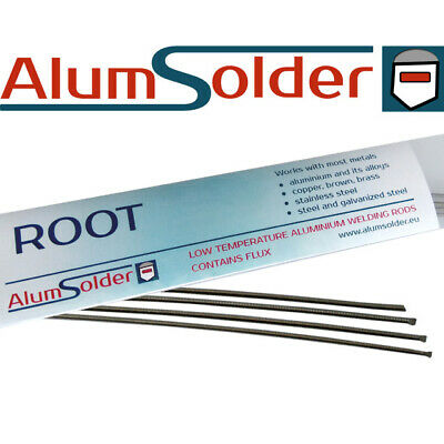 AlumSolder Root - 4 aluminium stainless steel welding rods easy repair aluminium