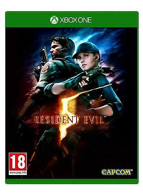 Resident Evil 5 HD Remake For XBOX One (New & Sealed)