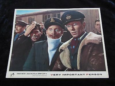 VERY IMPORTANT PERSON lobby card #1 STANLEY BAXTER, LESLIE PHILLIPS