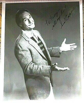Sid Caesar, Signed 8 x 10 Photo, Comedian, Actor