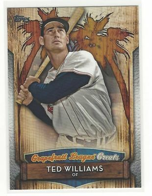 2019 Topps Series 1 Grapefruit League Greats #GLG-6 Ted Williams Red Sox