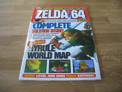N64 Nintendo strategy guide magazine Zelda 64 Ocarina of Time unofficial Paragon