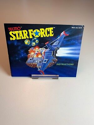 Nintendo NES Manual Starforce SCN
