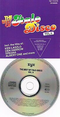 80`s CD – V.A. - The Best Of Italo Disco Vol. 9 ( 16 Track Disc; WOC Backcover )