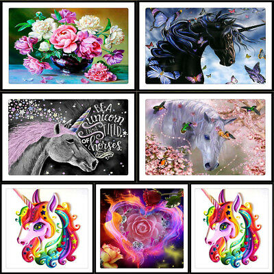 DIY 5D Diamond Painting Abstract Embroidery Cross Stitch Craft Home Decor