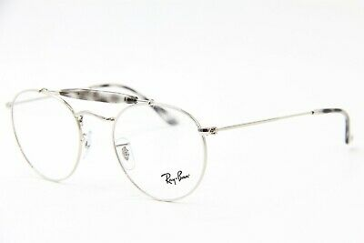 2176b3bbcd0 New Ray-Ban Rb 3747V 2501 Silver Eyeglasses Authentic Rx Frame Rb3747V 50-21