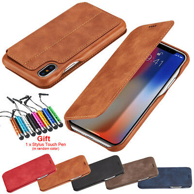 Flip Wallet Leather Case For iPhone XS mas XS XR X Cover Apple iPhone 8 7 6 5s