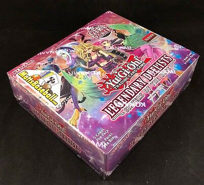 Yugioh Sisters Of The Rose Booster Box Legendary Duelists 1st Ed Sealed 36pk/5cd