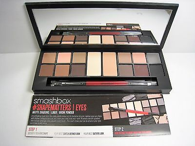 Smashbox Photo Matte Eyes Palette New Boxed Full Size Authentic