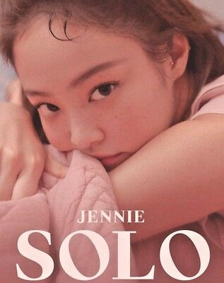 Jennie Solo: Select Album Or Special Edition Photo Book [Kpoppin Usa] Black Pink