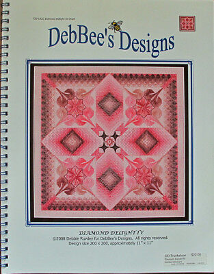 DebBee's Designs Diamond Delight IV Counted Needlepoint Chart/Pattern