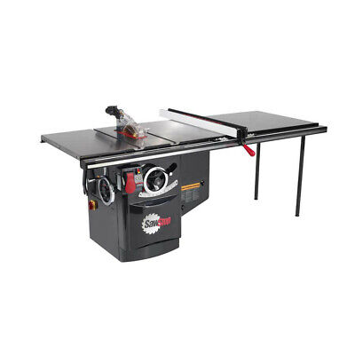 SawStop 230V 5HP 20.5A Industrial Cabinet Saw w/ 52 in. Fence ICS51230-52 New