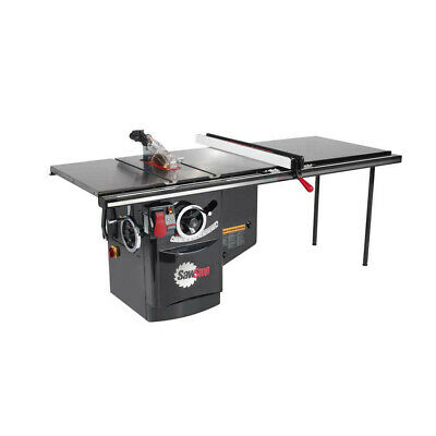 SawStop 480V 3Ph 5HP 6.5A Cabinet Saw w/ 52 in. Fence ICS53480-52 New