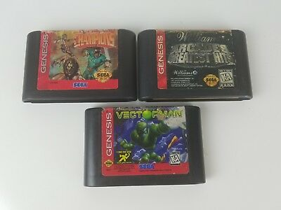 Vectorman, Eternal Champions and Midway's Arcade's Greatest Hits - SEGA BUNDLE