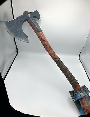 Full Size 1 1 Leviathan Kratos God Of War Resin Replica Axe