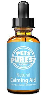 Pets Purest 100% Natural Calming Aid Supplement for Dogs Cats Horses Rabbits...
