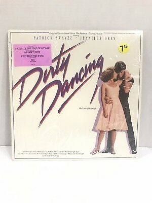 Dirty Dancing Original Soundtrack Vinyl LP WITH SHRINK *RECORD IS BRAND NEW MINT