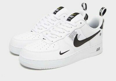 NIKE AIR FORCE 1'07 LV8 Utilitario ' bajo Blanco y Negro